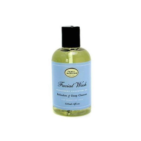 Facial Wash - Peppermint Essential Oil (For Sensitive Skin)  120ml/4oz