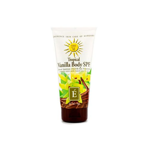 Tropical Vanilla Body SPF 32  147ml/5oz