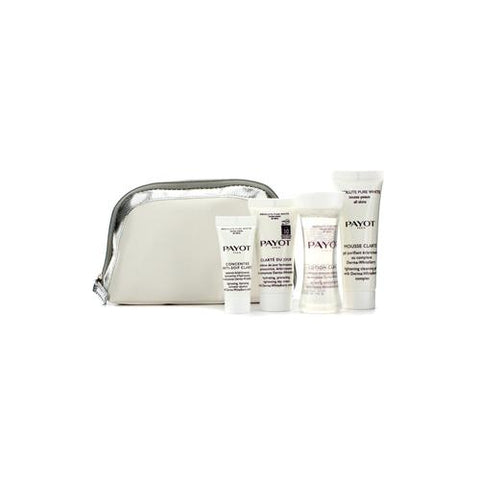 Absolute Pure White Kit: Lotion 30ml +  Mousse Clarte 25ml + Clarte Du Jour 15ml + Concentre Anti-soif Clarte 10ml  4pcs