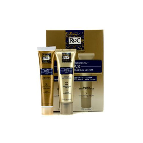 Retinol Correxion Max Wrinkle Resurfacing System: Anti-Wrinkle Treatment 30ml + Resurfacing Serum 30ml  2pcs