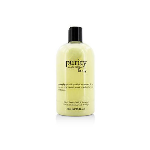 Purity Made Simple For Body 3-in-1 Shower, Bath & Shave Gel  480ml/16oz