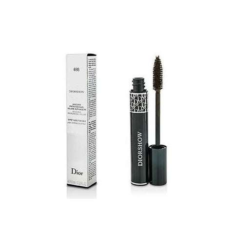 Diorshow Buildable Volume Lash Extension Effect Mascara - # 698 Pro Brown  10ml/0.33oz