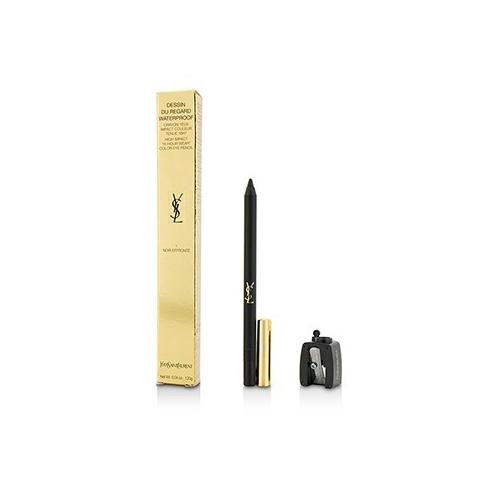 Dessin Du Regard Waterproof High Impact Color Eye Pencil - # 1 Noir Effronte  1.2g/0.04oz