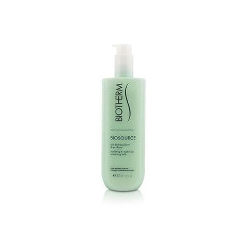 Biosource Purifying & Make-Up Removing Milk - For Normal/Combination Skin  400ml/13.52oz