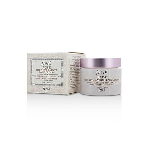 Rose Deep Hydration Face Cream - Normal to Dry Skin Types  50ml/1.6oz