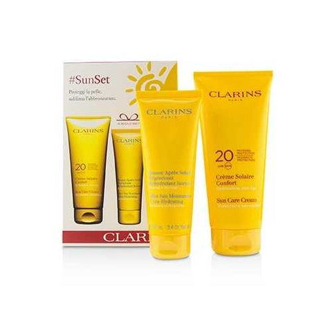 SunSet Kit: Sun Care Cream SPF 20 200ml/7oz + After Sun Moisturizer 100ml/3.4oz  2pcs