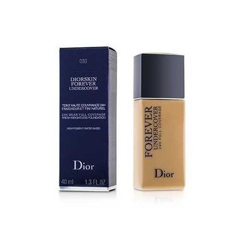 Diorskin Forever Undercover 24H Wear Full Coverage Water Based Foundation - # 030 Medium Beige  40ml/1.3oz