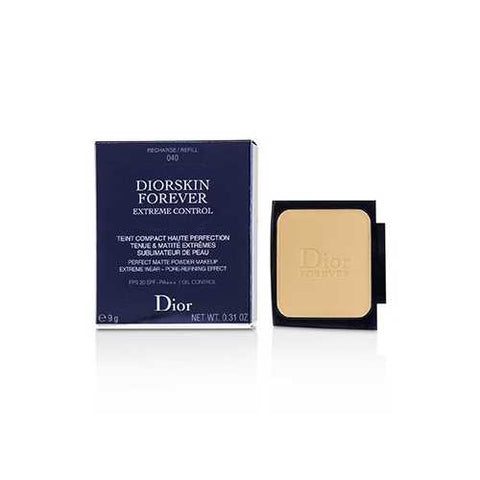 Diorskin Forever Extreme Control Perfect Matte Powder Makeup SPF 20 Refill - # 040 Honey Beige  9g/0.31oz