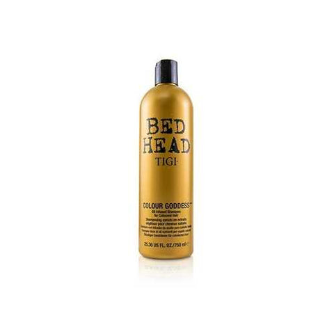 Bed Head Colour Goddess Oil Infused Shampoo - For Coloured Hair (Cap)  750ml/25.36oz