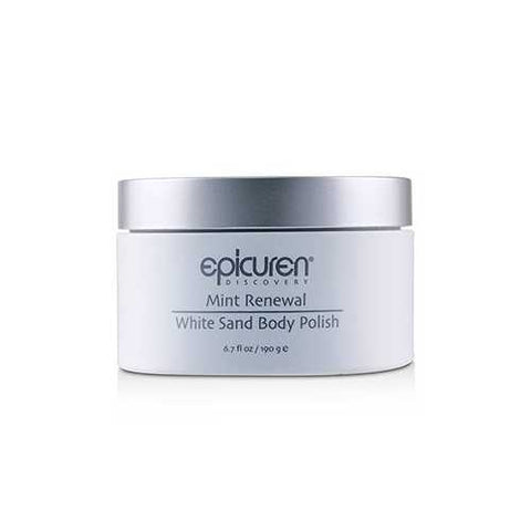 Mint Renewal White Sand Body Polish  190g/6.7oz