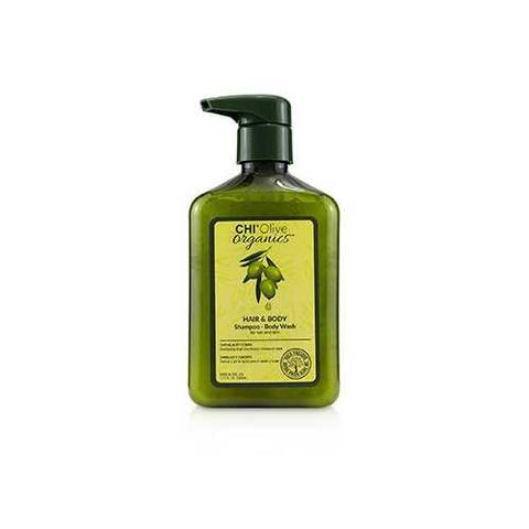 Olive Organics Hair & Body Shampoo Body Wash (For Hair and Skin)  340ml/11.5oz