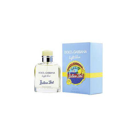 D & G LIGHT BLUE ITALIAN ZEST POUR HOMME by Dolce & Gabbana (MEN)