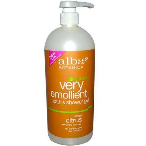 Alba Botanica Island Citrus Body Bath (1x32 Oz)