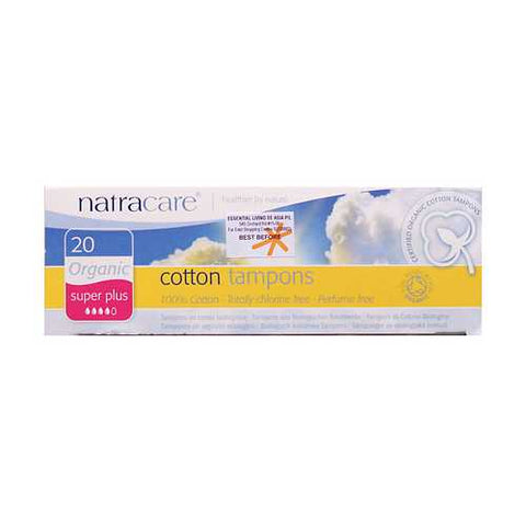 Natracare Super Plus Tampons (1x20 CT)