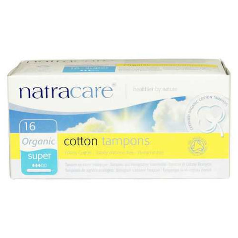 Natracare Super Tampons With Applicator (1x16 CT)