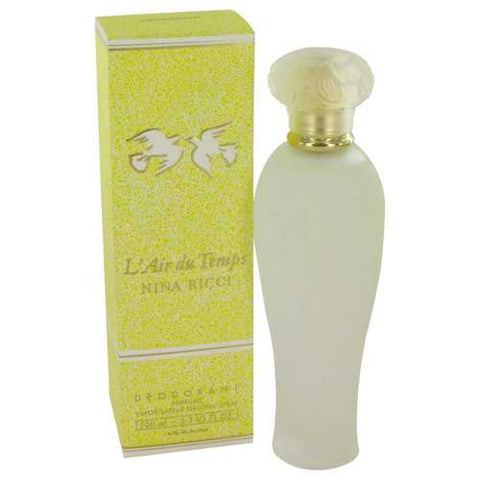 L'air Du Temps By Nina Ricci Deodorant Spray 3.3 Oz For Women