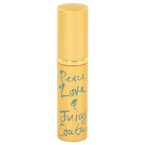 Peace Love and Juicy Couture By Juicy Couture Mini Edp Spray .13 Oz For Women