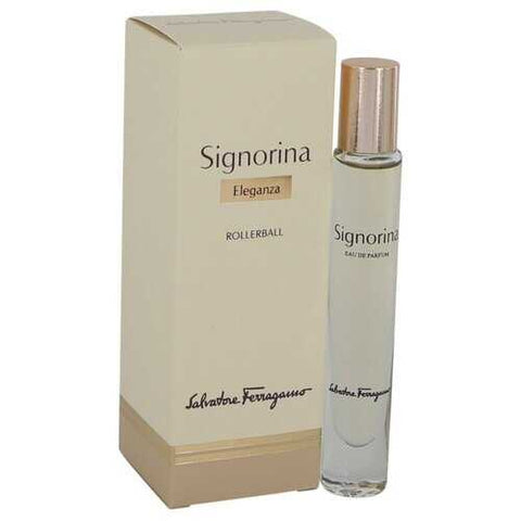 Signorina Eleganza By Salvatore Ferragamo Rollerball Edp .27 Oz For Women