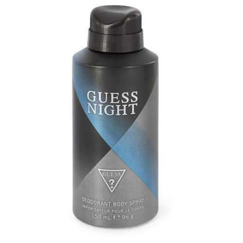 Guess Night By Guess Deodorant Spray 5 Oz For Men