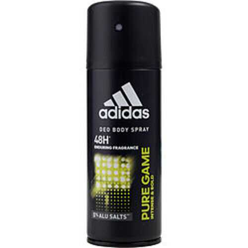 Adidas Pure Game Deodorant Body Spray 5 Oz (developed With Athletes) For Men