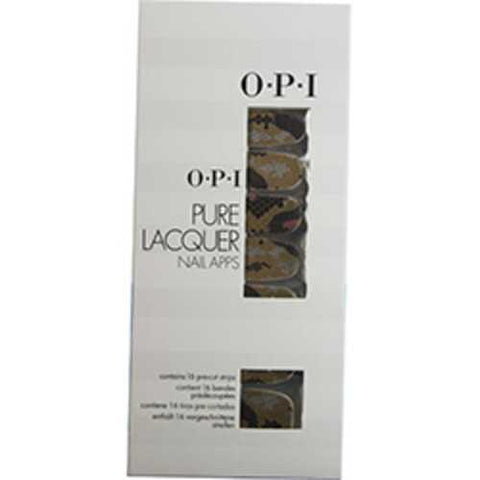 Opi Pure Lacquer Nail Apps--reptile--16 Pre-cut Strips For Women