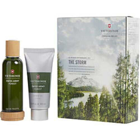 Swiss Army Forest Edt Spray 3.4 Oz and Shower Gel 3.4 Oz For Men