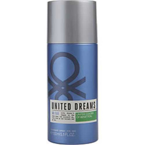 Benetton United Dreams Go Far Deodorant Spray 5.1 Oz For Men