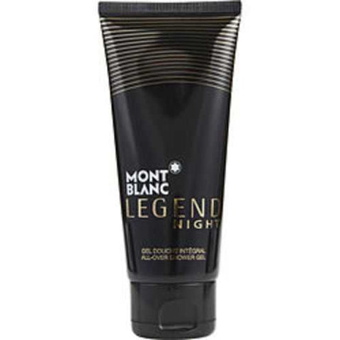 Mont Blanc Legend Night All Over Shower Gel 3.3 Oz For Men