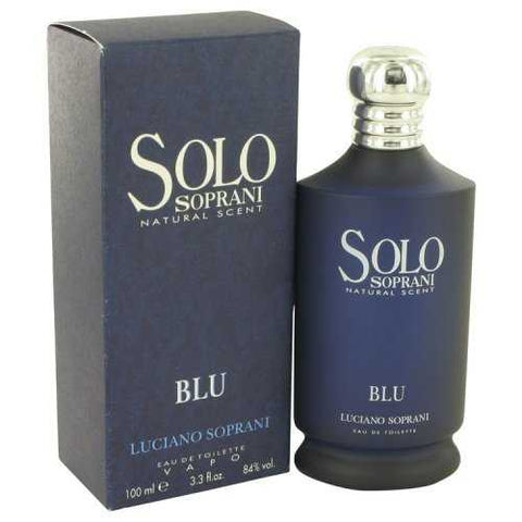 Solo Soprani Blu By Luciano Soprani Eau De Toilette Spray 3.3 Oz (pack of 1 Ea)