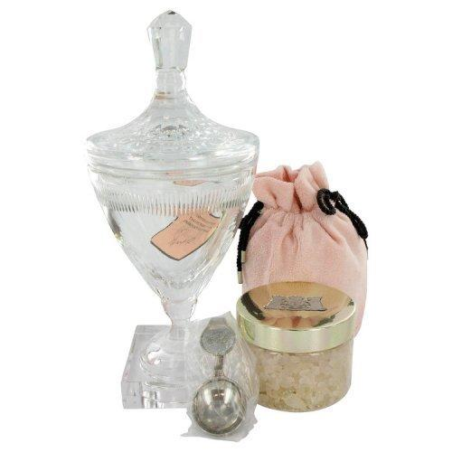 Juicy Couture By Juicy Couture Huge Crystal Goblet With Pacific Sea Salt Soak In Luxury Juicy Gift Box 10.5 Oz (pack of 1 Ea)