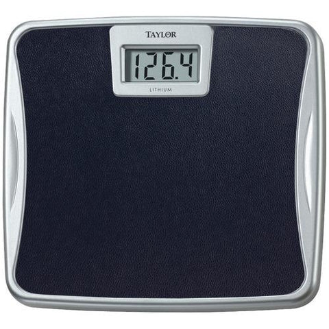 Taylor Silver Platform Lithium Electronic Digital Scale (pack of 1 Ea)