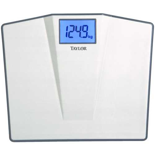 Taylor Precision Products Lcd Digital High-capacity Scale (pack of 1 Ea)