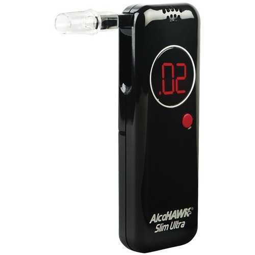 Alcohawk Ultra Slim Breathalyzer (pack of 1 Ea)