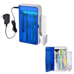 Pursonic UV Ultraviolet Family Toothbrush Sanitizer Sterilizer Cleaner with AC Adapter
