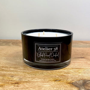 Black Pearl Orchid, Large, Black - Atelier 38