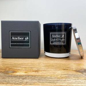Grapefruit & Mangosteen, XL Black - Atelier 38