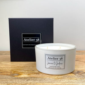 Jasmine & Gardenia, Large Contemporary White - Atelier 38