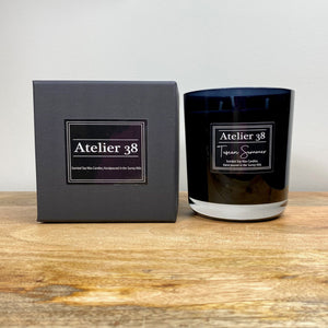 Atelier 38, Tuscan Summer, Extra Large Soy Candle, Multiwick Candle