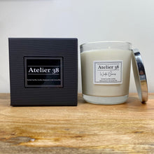 Load image into Gallery viewer, Atelier 38. Extra Large, Multiwick, Winter Berries, Luxury Soy Wax Candle. Christmas Collection