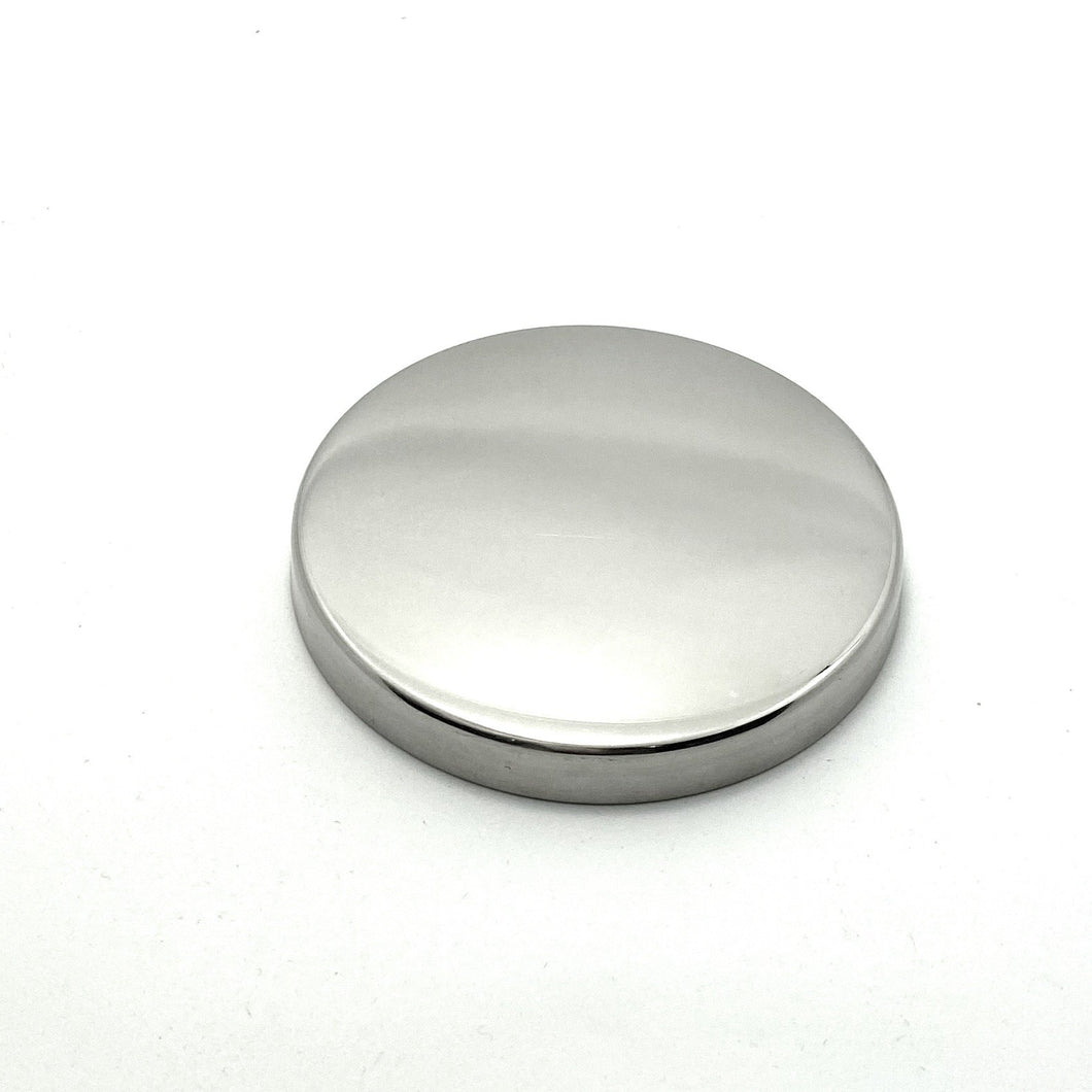 Silver Candle Lid, Medium - Atelier 38