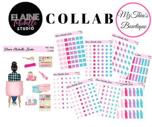 Planner Essentials Bundle-  Mz Thia's Bowtique Collab
