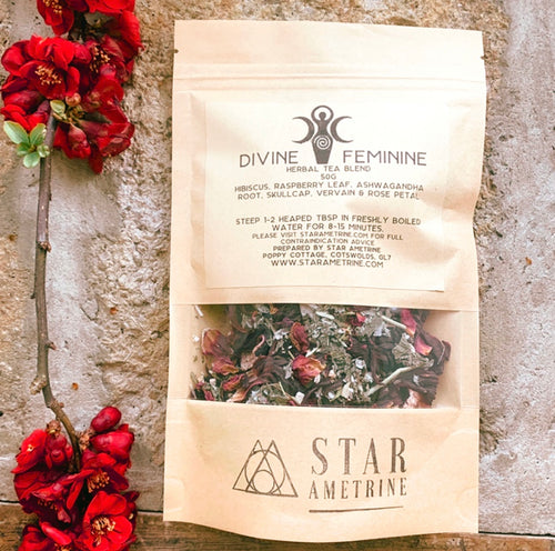 divine feminine botanical tisane herbal tea blend