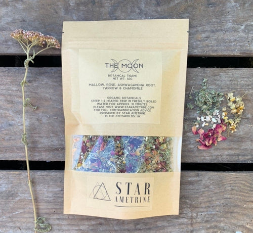 the moon botanical tisane herbal tea blend