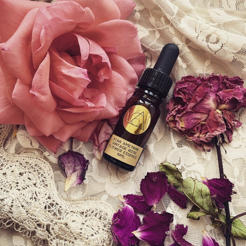 Vintage Rose Flower Essence