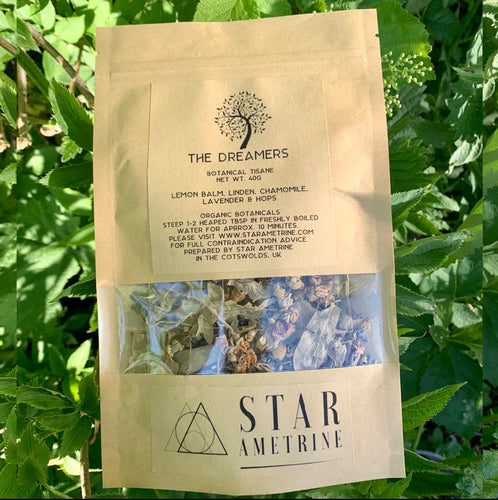 the dreamers botanical tisane herbal tea blend