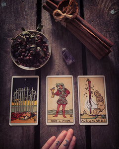 Past ⇸ Present ⇸ Future Tarot Reading