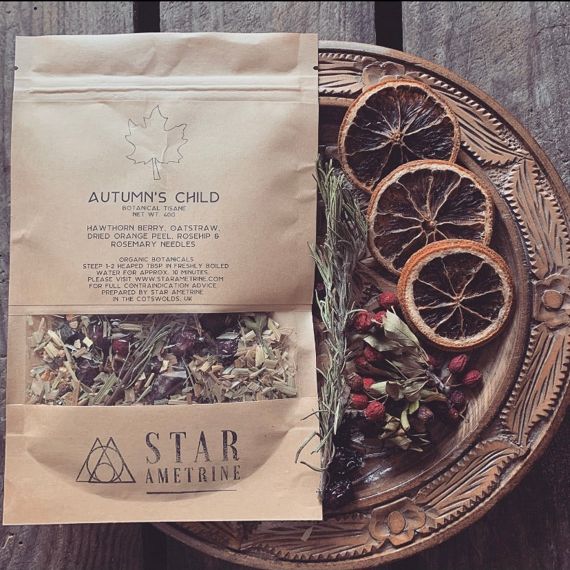 autumn's child botanical tisane tea blend