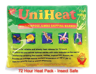 Full Line Of Insect Shipping Supplies And Heat Packs