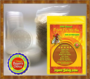 Fruit Flies and Fruit Fly Culture Supplies
