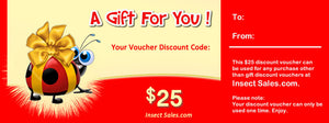 $25 Discount Vouchers Make Great Gifts.
